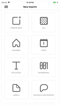 The e-mark App