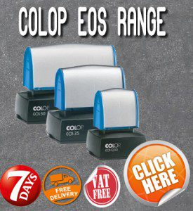 Rubber Stamp Shops Birmingham offers all types of Colop EOS Stamps