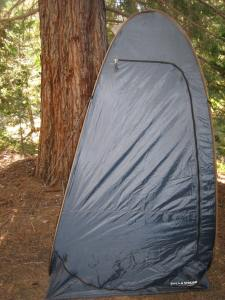 This photo shows my Field and Stream brand privacy tent.
