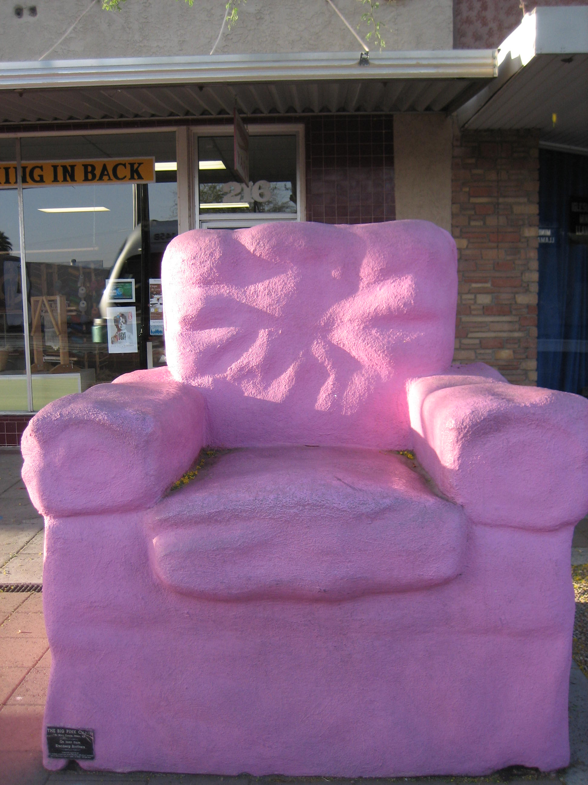 Marvelous The Big Pink Chair