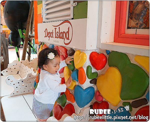 [親子旅行。日本沖繩] 美國村American Village Depot Island – Rubee。小紅寳