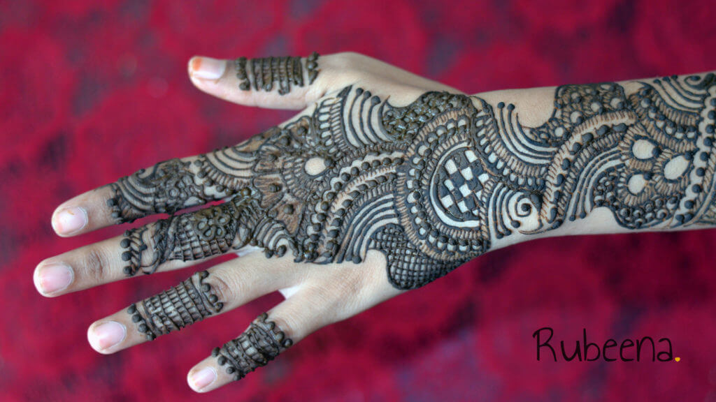 Mehandi Designs Arabic Back Hand