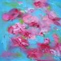 <h5>Ziedam</h5><p>40x40cm / Lina audekls / Eļļa / 2015 / Privātkolekcijā</p>