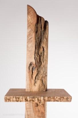 Spalted Maple 3 Tier Shelf