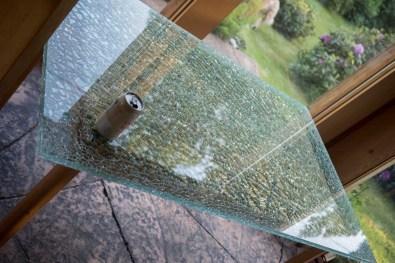 Broken glass!