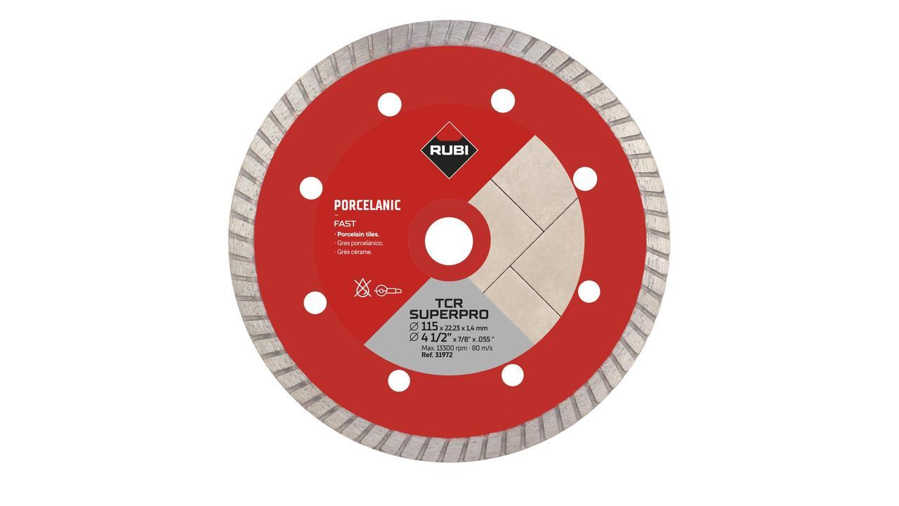 turbo tcr 115 superpro porcelain tiles diamond blade