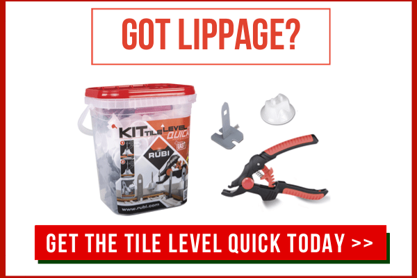 start with the right tile leveling system