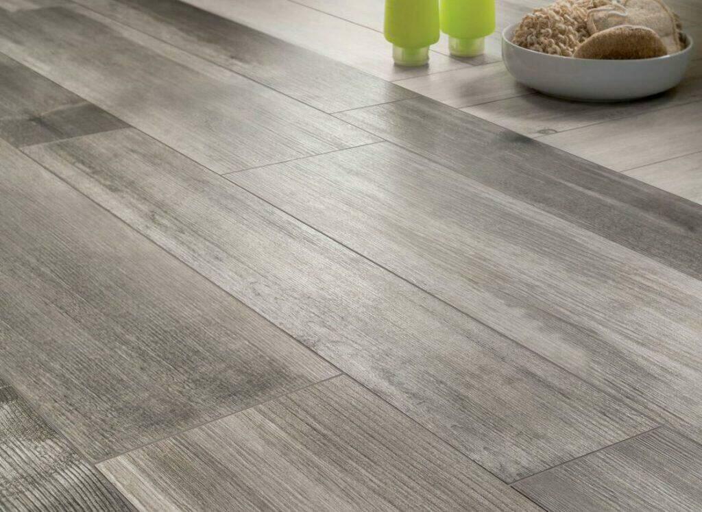 wood look tile flooring how to lay