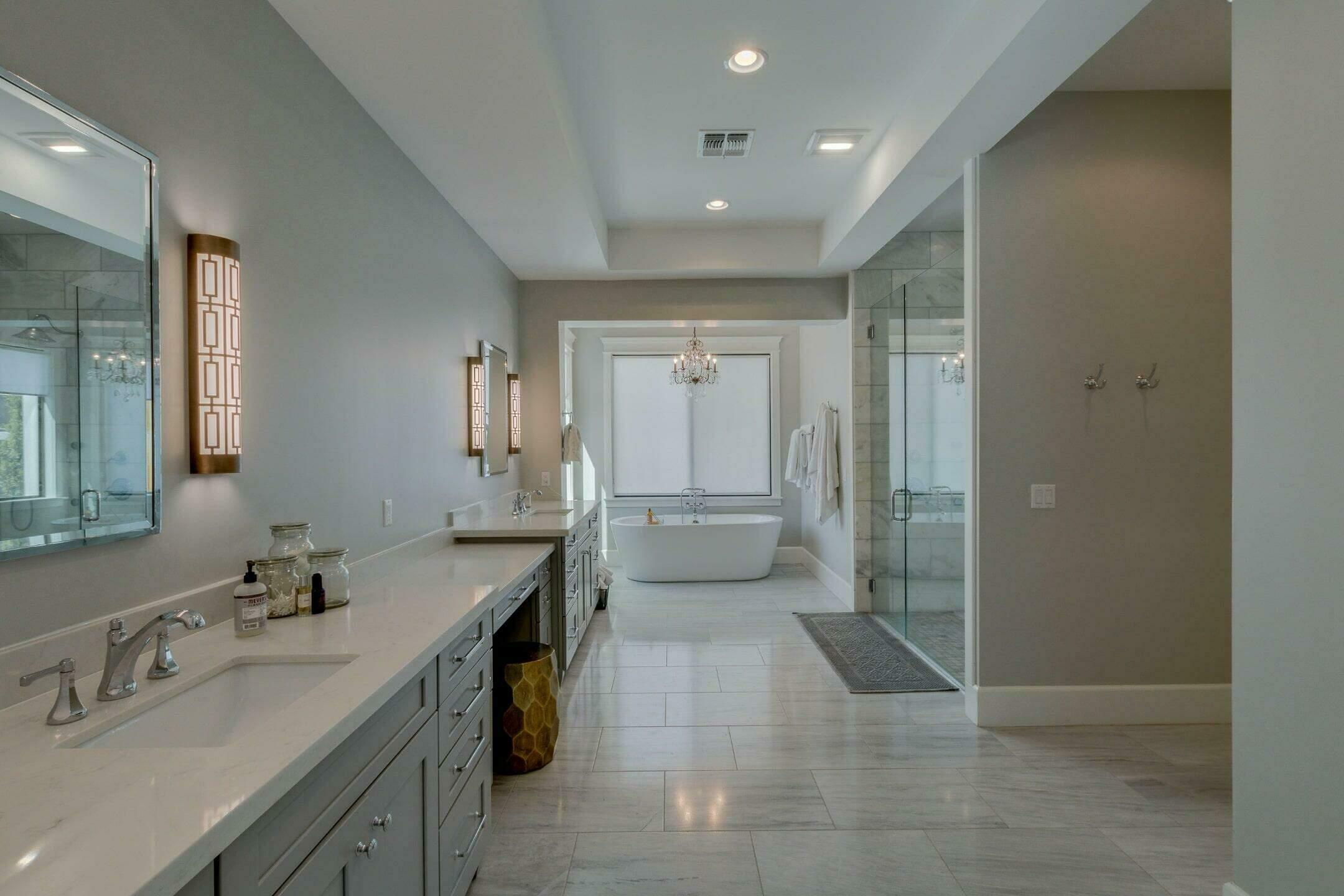 large format tile to transform spaces