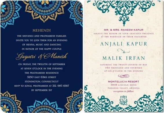 Top Indian Wedding Invitation Cards St Bridal World Invitations