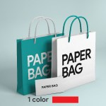 RubikPrint Shopping Bag - 1 Color