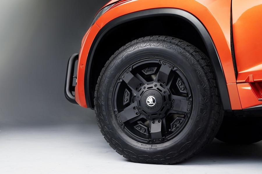 skoda mountiaq tires