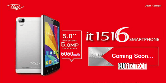 Itel 1516 Plus Smartphone with 2GB Ram specs leaked