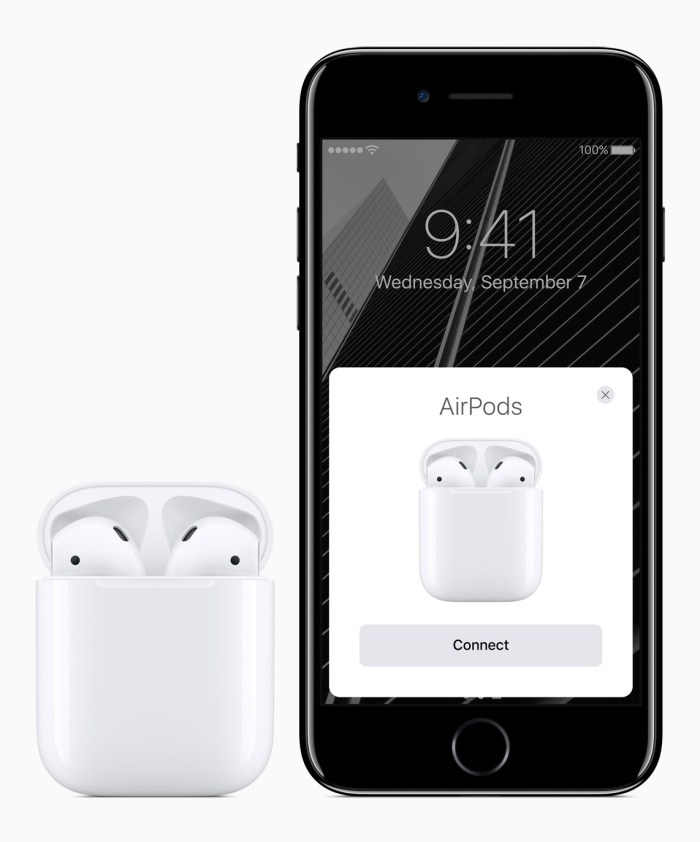 Wireless Apple Airpods