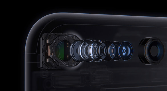 iPhone 7, iPhone 7 Plus cameras