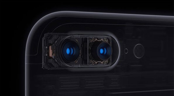 iPhone 7, iPhone 7 Plus dual cameras