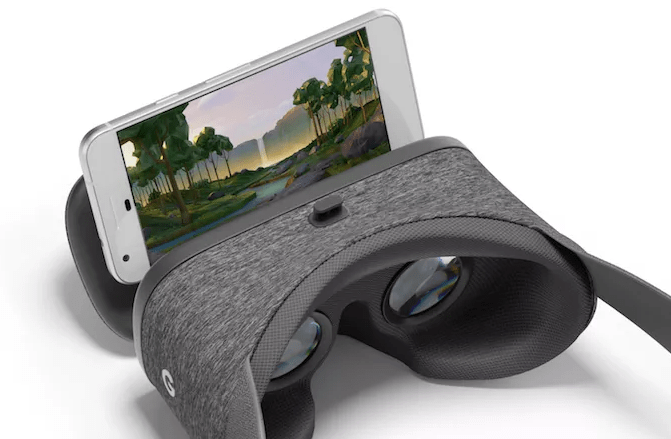 Google's Daydream view headset
