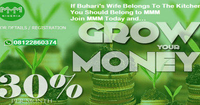 If Buhari's Wife Belongs To The Kitchen, You Should Belong to MMM