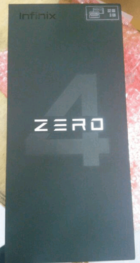 Leak Pictures of Infinix Zero 4 X555