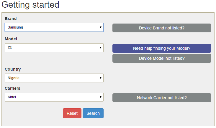Verify Phone's 4G LTE ntework Status Via Website