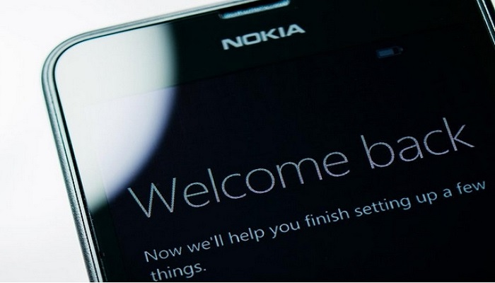 Nokia 6 Android smartphone.