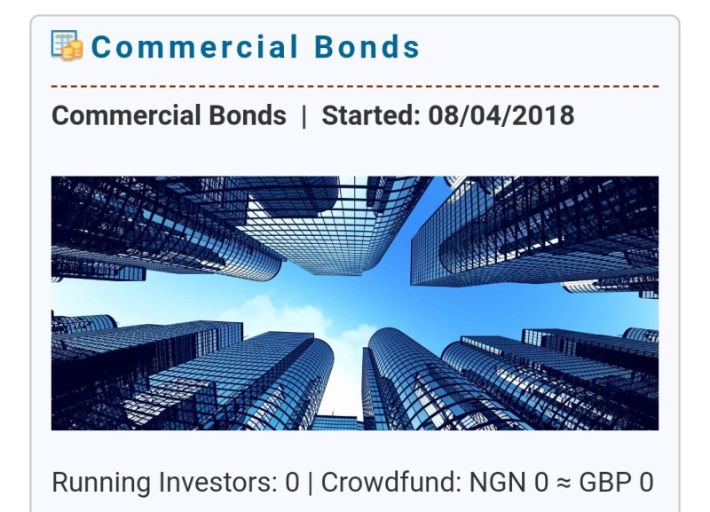 Winthrills Network Commercial Bonds Project
