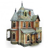 Buy Victorian Dollhouse #1 with furniture in online store ...