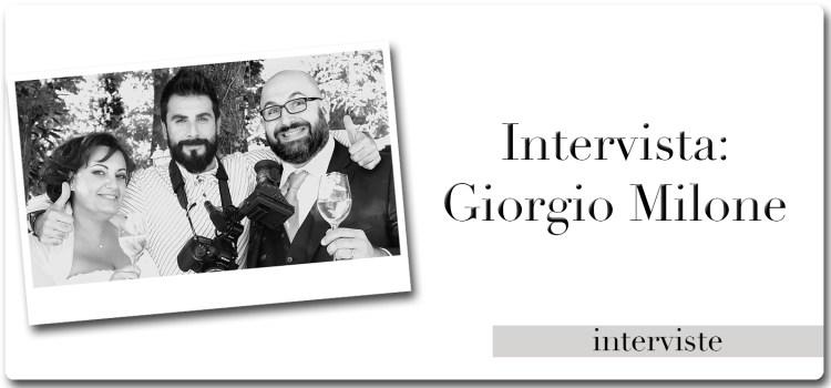 Intervista a Giorgio Milone