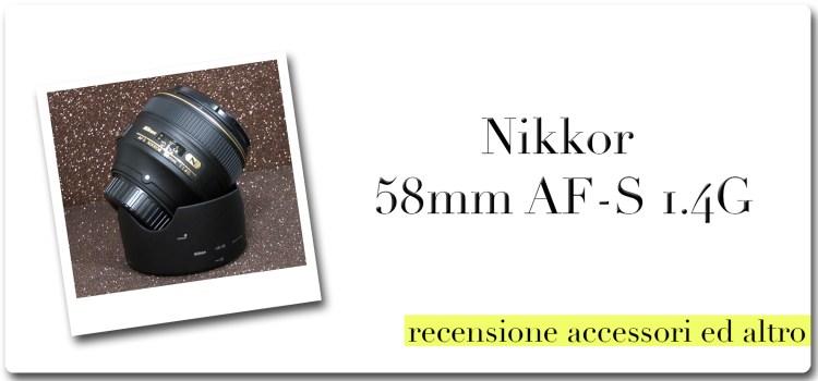 Nikon Nikkor 58mm AF-S 1.4G