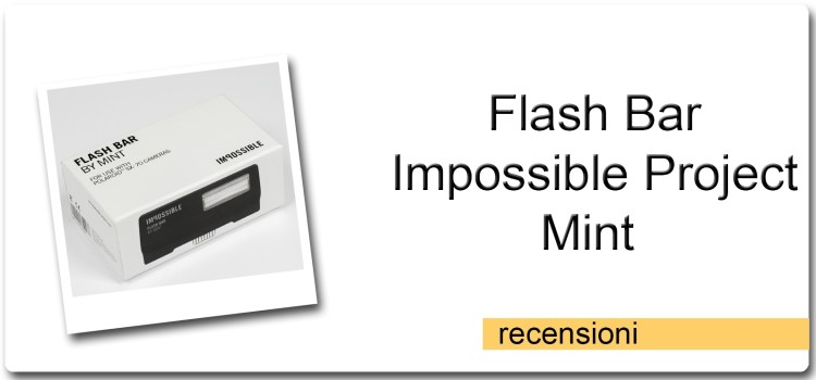 Flash Bar – Impossible Project – Mint – Polaroid Original