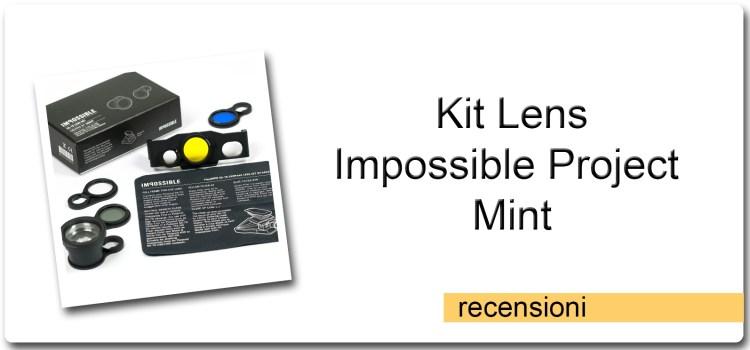 Kit Lens – Impossible Project – Mint