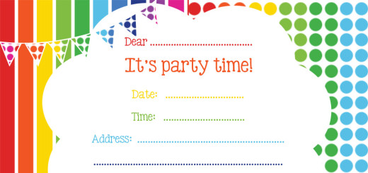free party invitations free