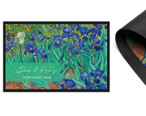 Van Gogh Irises 2mm Ultra Thin Door Mat