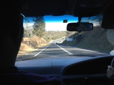 On the road to the outback