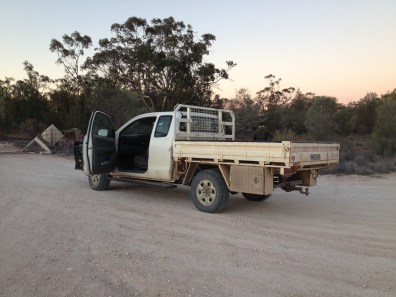Typical outback ute