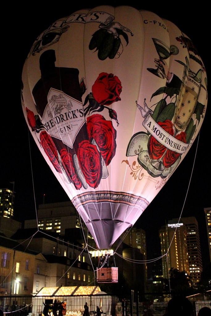 Hendricks Gin Hot Air Balloon