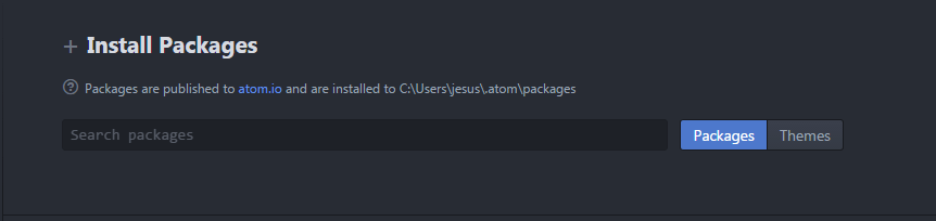 atom-install-package