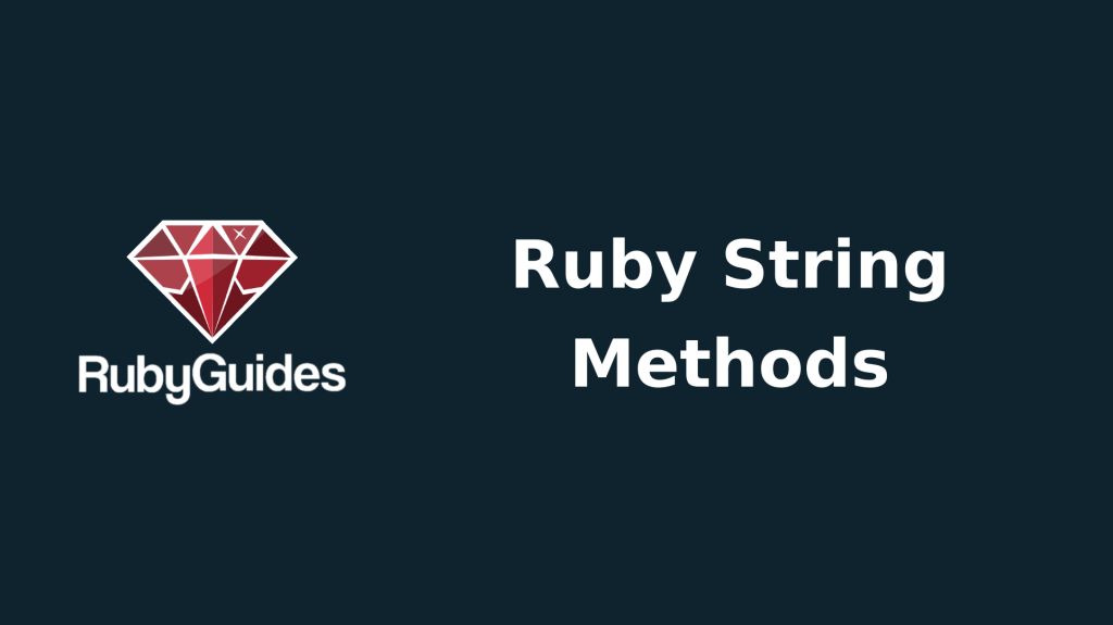 ruby string methods