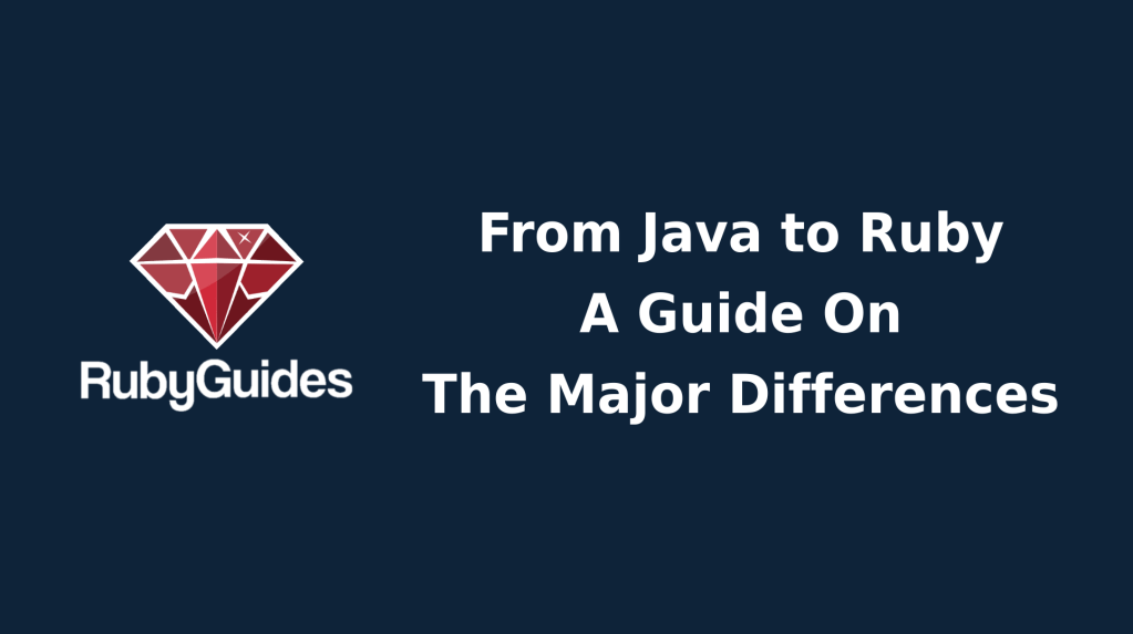 Java vs Ruby (Featured Image)