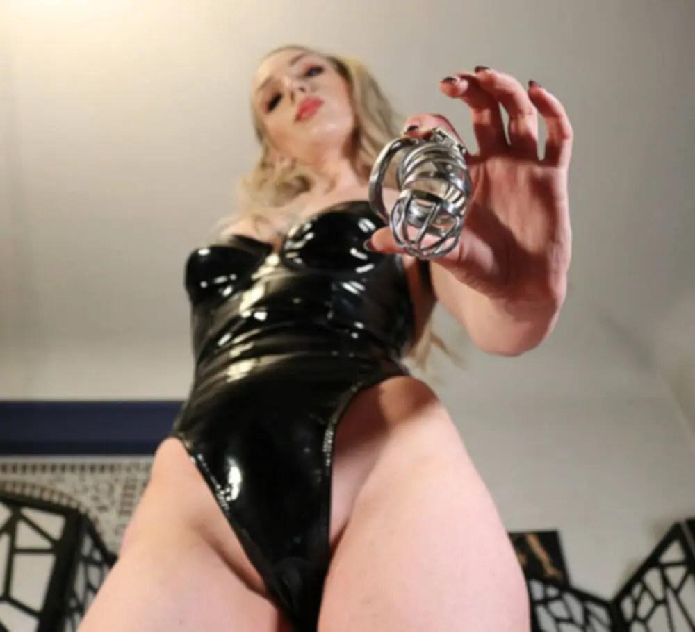 Chastity dominatrix ruby enraylls
