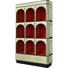 The Count Book Cabinet by Scarlet Splendour