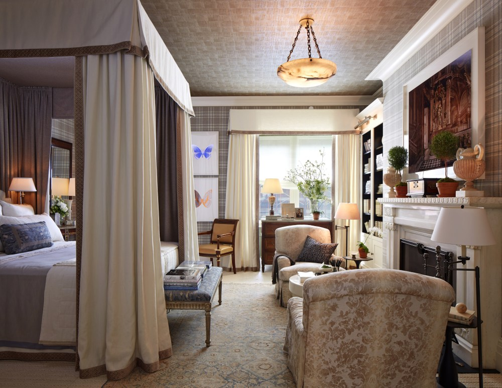 David's design for the 2015 Kips Bay Show House - his style is consistently sophisticated and elegant.