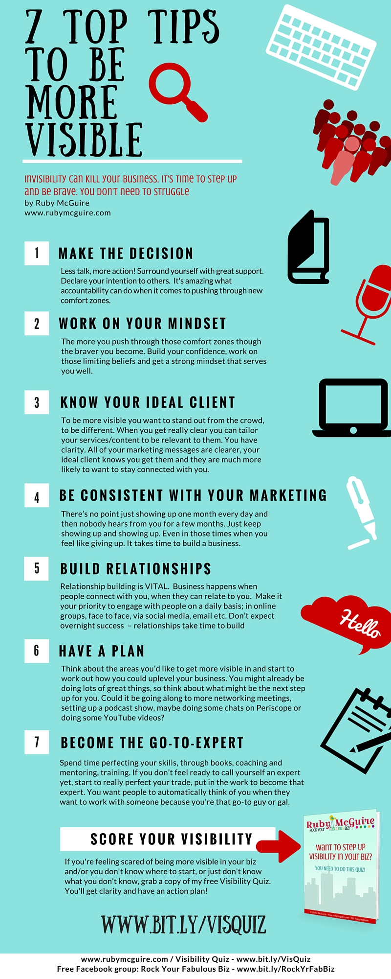 7 TOP TIPS TO BE MORE VISIBLE (1)
