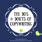 The Do's & Don'ts of Copywriting