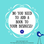 Do You Need To Add A Book To Your Business?