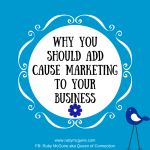 Why You Should Add Cause Marketing To Your Business
