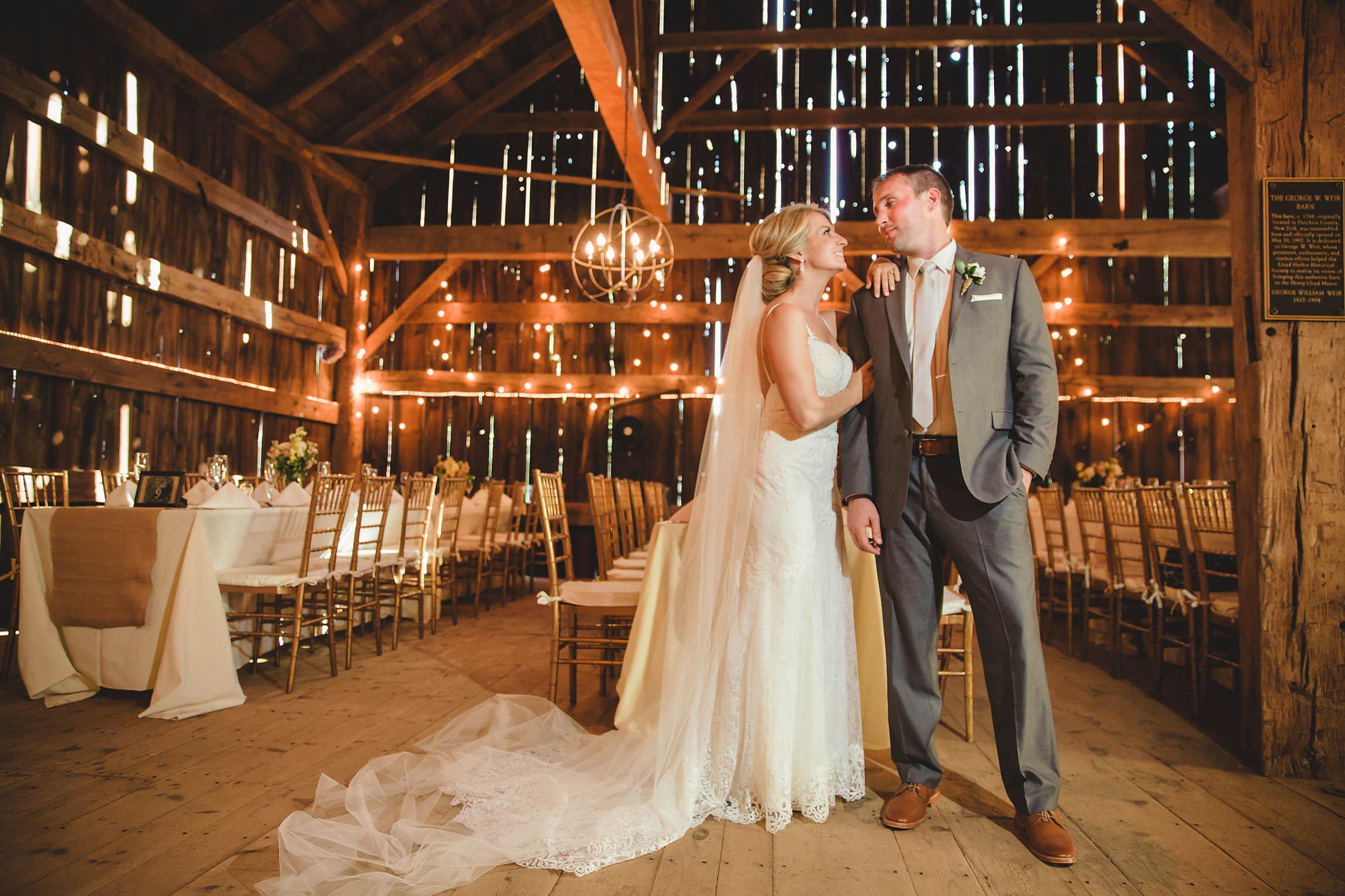 George Weir Barn Wedding Lori Amp Tom Ruby Star