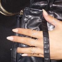 14k Rose Gold Diamond Infinity X Ring