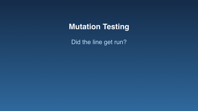 Did this line get run by your tests? (bullet point)