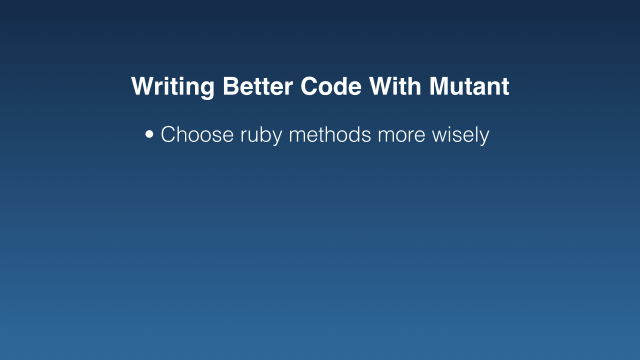 Choose ruby methods more wisely (bullet point)